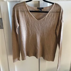 Distressed F21 Sweater